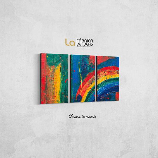 Cuadro Abstracto  Colores
