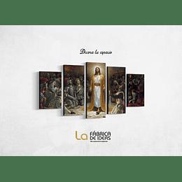 Cuadro Jesucristo Tamaño 110 x 59