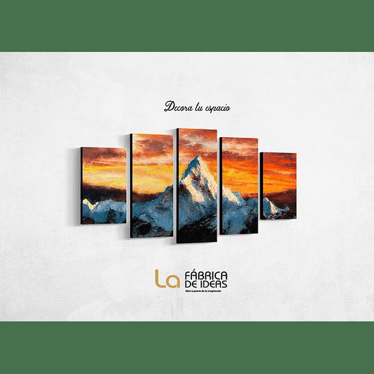 Cuadro Monte Everest Tamaño 110 x 59