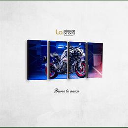 Cuadro Motos Yamaha R1 Tamaño 1 metro 5 cm de ancho x 50 de alto