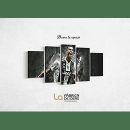 Cuadro Cristiano Ronaldo tamaño 1 metro 10 x 59 de alto