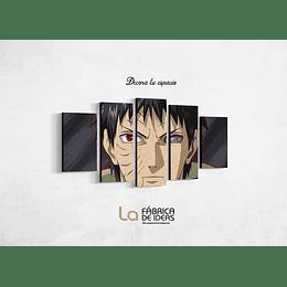 Cuadro Anime Obito Uchiha tamaño 110 x 59