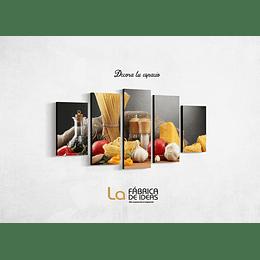 Cuadro para Restaurante Tamaño 1 metro 10 de ancho x 59 de alto