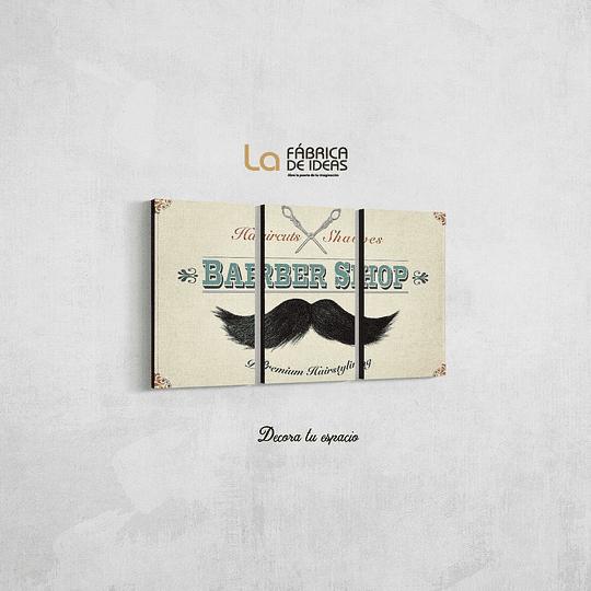 Cuadro para Barberia
