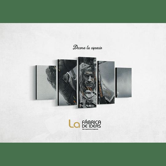 Cuadro serie  The Witcher tamaño 1 metro 10 de ancho x 59 de alto
