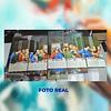 Cuadro Ultima Cena tamaño 1 metro 10 cm de ancho x 59 de alto