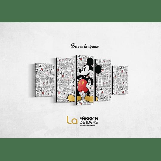 Cuadro Mickey Mouse Tamaño 1 metro 5 cm de ancho x 59 de alto
