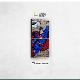 Cuadro Superman Vintage tamaño 1 metro  de alto x 50 de ancho
