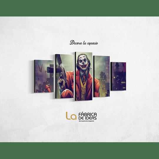 Cuadro Joker Tamaño 1 metro 10 de ancho x 70 de alto
