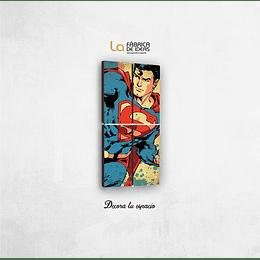 Cuadro  Superman tamaño 1 metro de alto x 50 de ancho