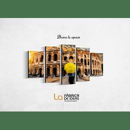 Cuadro Coliseo Romano Tamaño 110  de ancho x 70 de alto