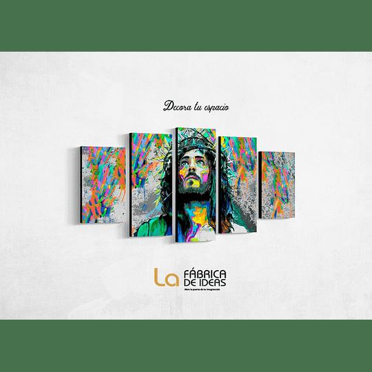 Cuadro Jesucristo Religioso Tamaño 1 metro 10 de ancho x 59 de alto