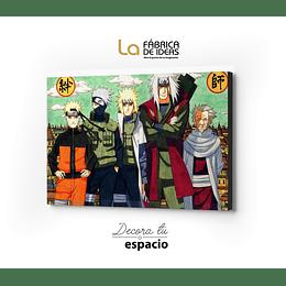 Cuadro Naruto 1 pieza  100 x 70 cm