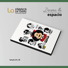 Cuadro de Mafalda