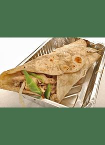Burritos de Carne de Cerdo y Vegetales