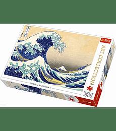Puzzle Trefl 1000 Pcs - The Great Wave of Kanagawa