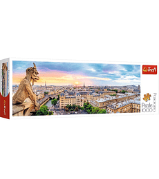 Puzzle Trefl 1000 Pcs - View from the Cathedral of Notre-Dame de Paris