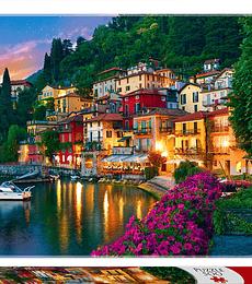 Puzzle Trefl 500 Pcs - Lago de Como, Italia
