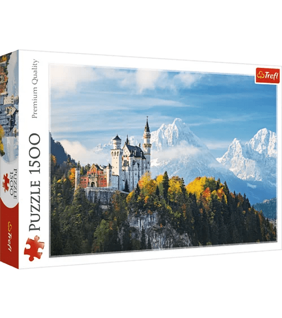 Puzzle Trefl 1500 Pcs - Bawarian Alps