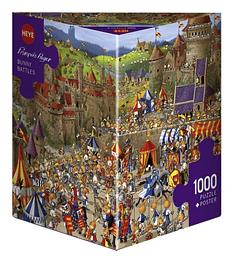 Puzzle 1000 Pcs - Bunny Batltles Heye