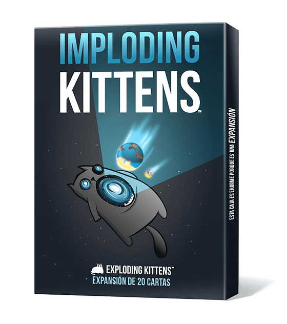 Exploding Kittens exp. Imploding Kittens