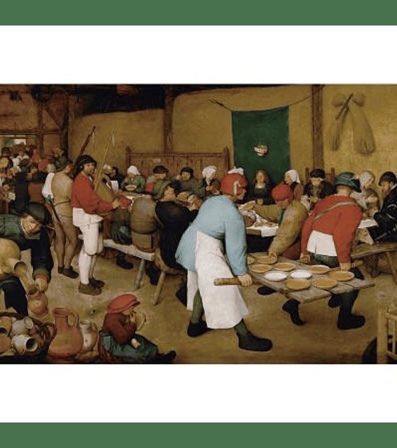 Puzzle Piatnik 1000 pcs KHM Brueghel Bauernhochzeit