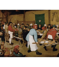 Puzzle 1000 Pcs - Bruegle Peasant Wedding KHMW Piatnik