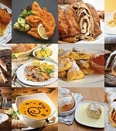 Puzzle 1000 Pcs - Austrian Food Classics Piatnik
