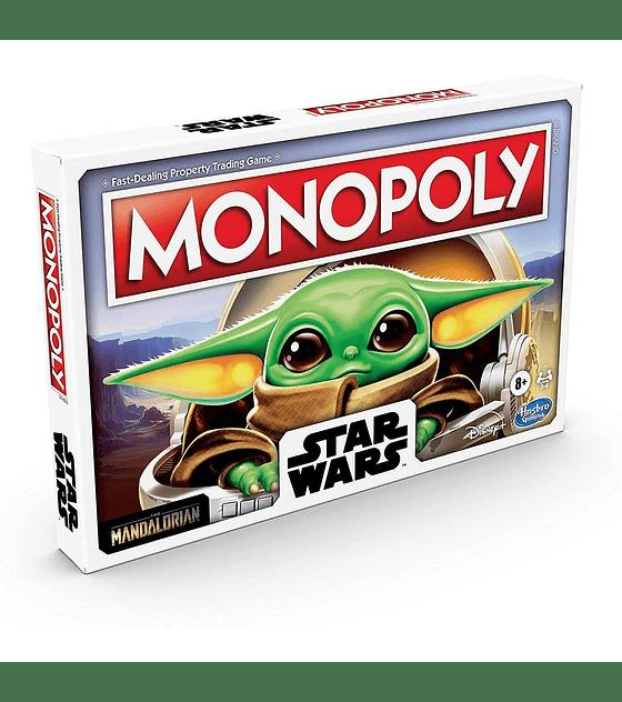 Monopoly Star Wars The Mandalorian