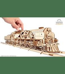 Locomotora de Vapor V-Express