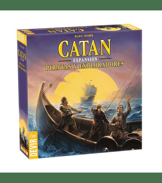 Catan exp. Piratas y Exploradores