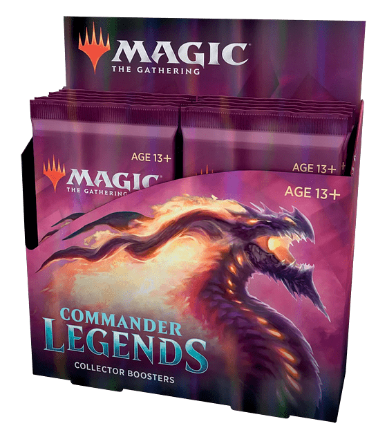 Magic The Gathering: Commander Legends Collector Box
