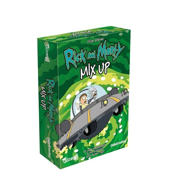Preventa - Rick and Morty: MIx up