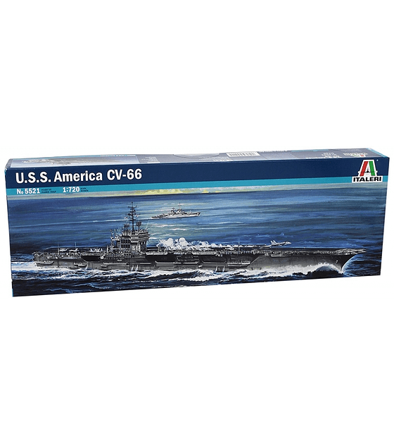 ITALERI USS America CV-66