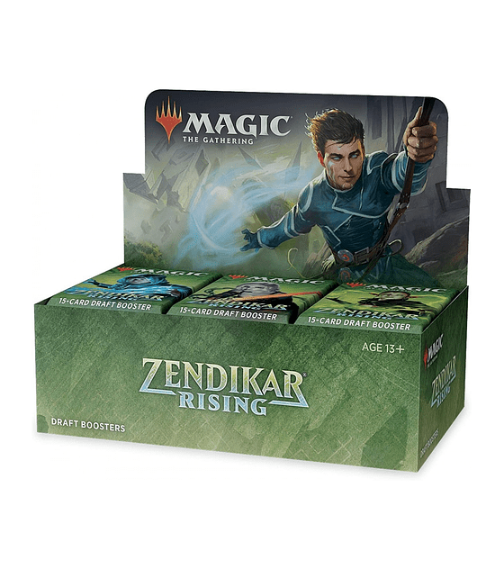 El resurgir de Zendikar Booster Box (Español)