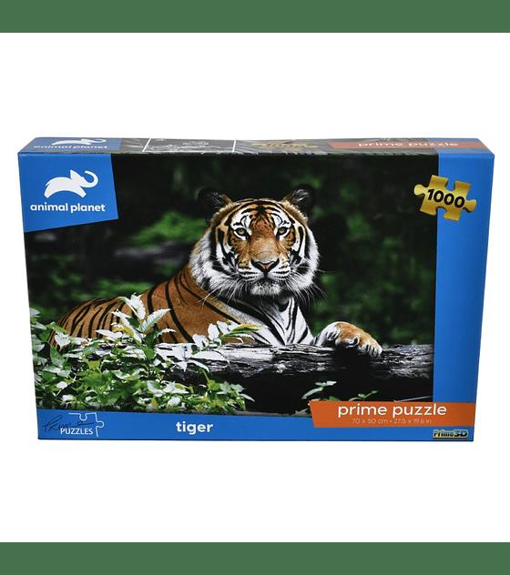 Puzzle 1000 Pcs - Tiger Animal Planet