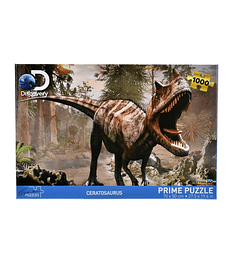 Puzzle 1000 Pcs - Ceratosaurus Discovery