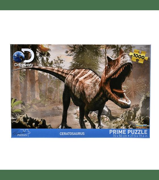 Puzzle 1000 Piezas Discovery Ceratosaurus