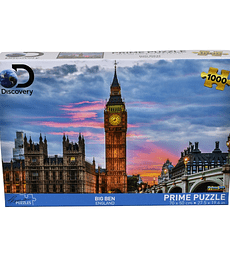 Puzzle 1000 Pcs - Big Ben Discovery