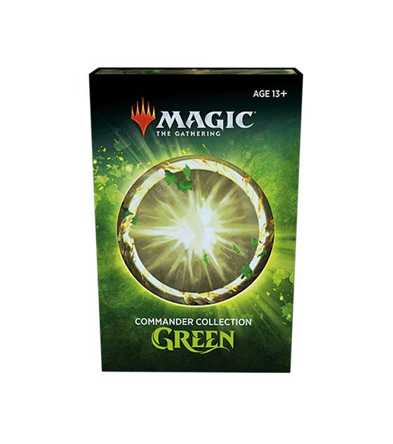 Magic The Gathering - Commander Collection Green