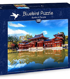 Puzzle 1000 Pcs - Byodo-In Temple Bluebird