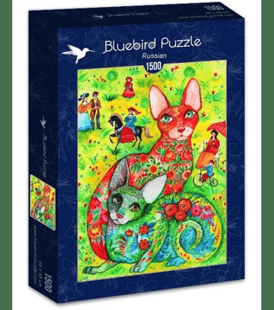 Puzzle 1500 Pcs - Russian Bluebird