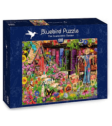 Puzzle 1000 Pcs - The Scarecrow's Garden Bluebird