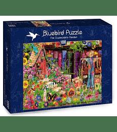 Puzzle 1000 Pcs - The Scarecrow's Garden Bluebird