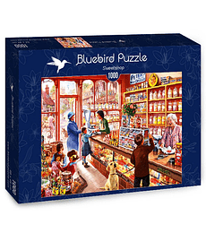 Puzzle 1000 Pcs - Sweetshop Bluebird