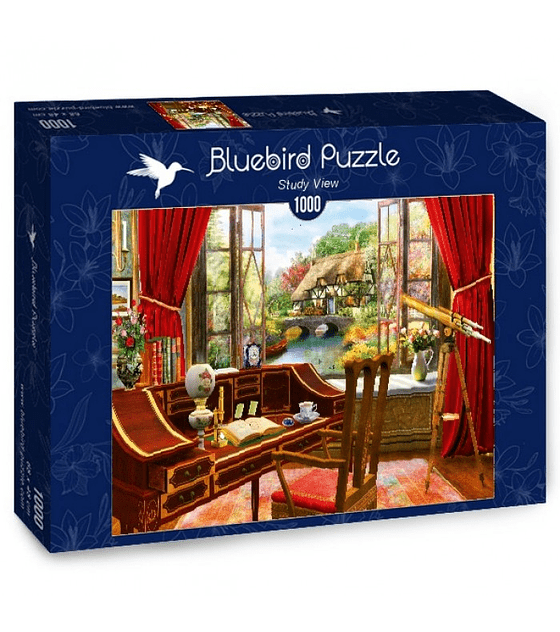 Puzzle 1000 Pcs - Study View Bluebird