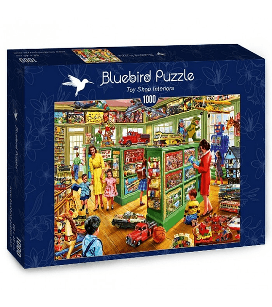 Puzzle 1000 Pcs - Toy Shop Interiors Bluebird