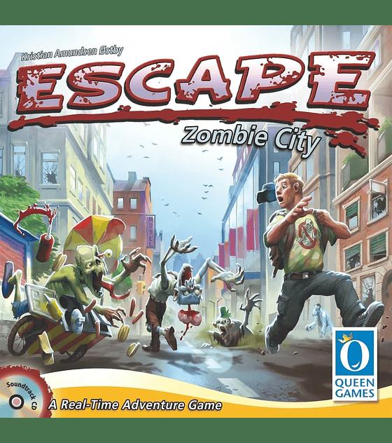 Escape, Zombie City - Ingles