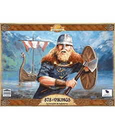 878 Vikings, Invasion a Inglaterra