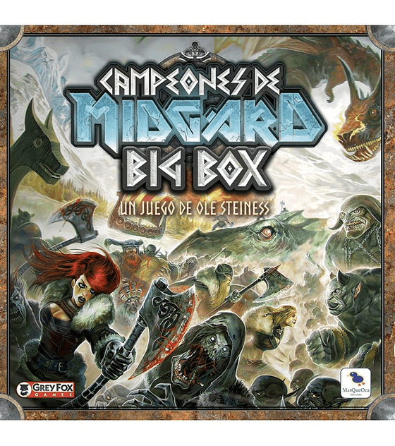 Campeones de Midgard - Big Box